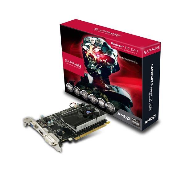 SAPPHIRE SAPPHIRE R7 240 2GB DDR3 128BIT WITH BOOST LITE