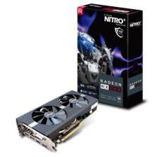 SAPPHIRE RX 580 4G 256B GDDR5 DVID-2xHDMI-2xDP NITRO+ AMD EKRAN KARTI