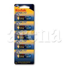 Kodak Ultra Alkalin 27A Kumanda Pili (5 pack)