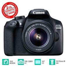 CANON EOS 1300D 18-55mm DSLR Fotoğraf Makinesi