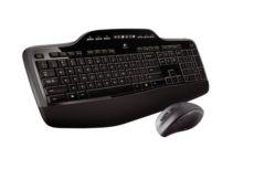 LOGITECH Mk710 Kablosuz Q Tr Klavye&Mouse Set Siyah