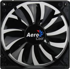 AEROCOOL Dark Force 12cm Siyah Sessiz Kasa Fanı