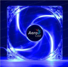 AEROCOOL 12cm 4Pin PWM Mavi LED Kasa Fanı AE-CFPL120BL