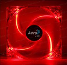 AEROCOOL 12cm PWM 4Pin Kırmızı Led Fan AE-CFPL120RD