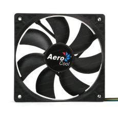 AEROCOOL 12cm PWM 4Pin Siyah Kasa Fanı AE-CFPW120BK