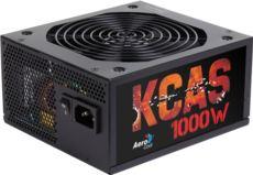 AEROCOOL 1000W KCAS Serisi 80+Plus bronze ,10x sata , 55cm uzun kablo güç kaynağı
