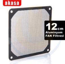 AKASA 12cm Alüminyum Fan Filtresi AK-GRM120-AL01-BK