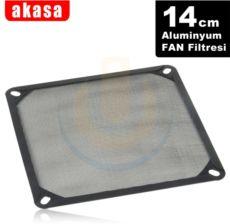 AKASA 14cm Alüminyum Fan Filtresi