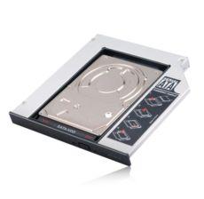 AKASA N.Stor Notebook SlimSATA Optik Sürücü Yuvasıyla Uyumlu 2.5-SATA HDD Kutu