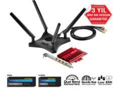 ASUS PCE-AC88 Çift Bant Kablosuz-AC3100 PCIe Adaptörü
