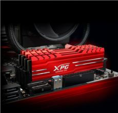 ADATA XPG GAMMIX D10 DDR4 8GBX2 3000 DUAL RED HEATSINK (AX4U300038G16-DRG)