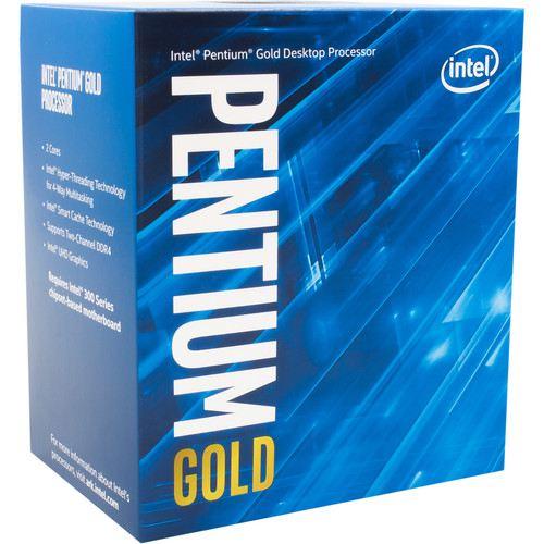 INTEL BX80684G5500 G5500 Pentium Gold 3.80GHz LGA1151 4MB HD610 İşlemci