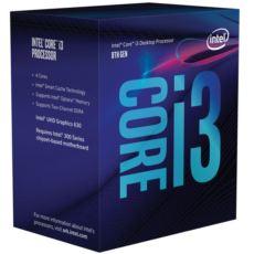 INTEL 8100 i3 3.6GHz LGA1151 6MB UHD630 İşlemci