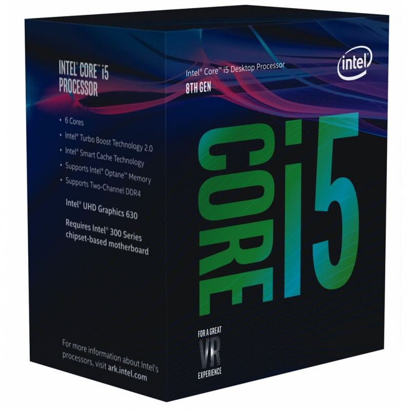 INTEL BX80684I58500 8500 CI5 3.0GHz LGA1151 9MB HD630 Gaming İşlemci