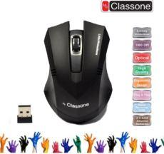 CLASSONE. C300  KABLOSUZ MOUSE  NANO ALICI USB SİYAH