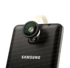 DARK 3in1, Üniversal cep tel. uyumlu, geniş açı balık gözü Lens Kiti - Gümüş