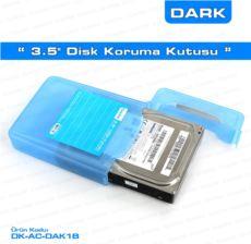 DARK 3,5 inç Disk Koruma ve Taşıma Kutusu