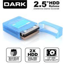 DARK 2.5- Çift Disk Koruma ve Taşıma Kutusu