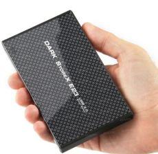 DARK 2.5-inç USB3.0 tek tuş yedekleme alüminyum desenli disk kutusu