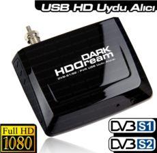 DARK HDDREAM Zaman Ayarlı Kayıt, Harici Mobile USB DVB S-S2 Uydu TV Kartı