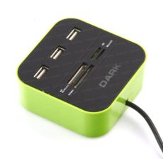 DARK USB2.0 External 49 in 1 Kart Okuyucu Yeşil