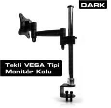 DARK Monitör Destekli Masa Tipi Ekonomik VESA Mount 13--23- LCD Monitör ve TV