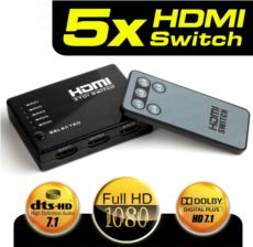 DARK 5 Portlu HDMI Switch Seçici