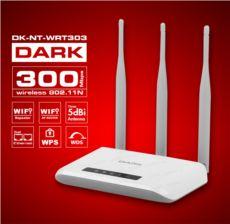 DARK RangeMAX WRT303 802.11n WiFi 300Mbit 3x5dBi Antenli Kablosuz Router - Ac