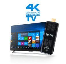 DARK Intel Atom Z8300 Dört Çekirdekli 2GB-32GB Win10 Micro Bilgisayar