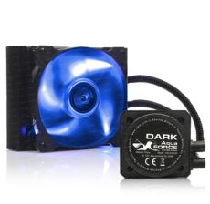 DARK Aquaforce W120 sıvı soğutma,Çift 12cm Fanlı Intel 1155 1156 1366 AMD