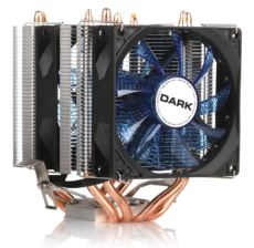 DARK Freezer X94BL 2 X 92mm 4pin PWM Mavi Led Fanlı AMD-INTEL İşlemci Soğ.
