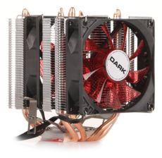 DARK Freezer X94RD 2 X 92mm 4pin PWM Kırmızı Led Fanlı AMD-INTEL İşlemci Soğ