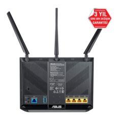 ASUS 1900Mbit Torrent,Bulut,VPN,DLNA,3G-4G,EWAN VDSL-Fiber-ADSL Modem Router