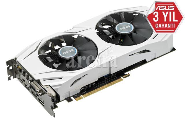 ASUS DUAL-GTX1060-O6G DUAL-GTX1060-O6G PCI Express 3.0 GL OpenGL®4.5 GDDR5 6GB 192-bit DVI-D HDMI2.0 DP