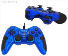 FRISBY Titreşimli PC-PS3 USB Analog GamePad Mavi