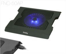 FRISBY 20cm LED Fanlı 2 USB HUB?lı 10--17- Notebook Stand ve Soğutucu