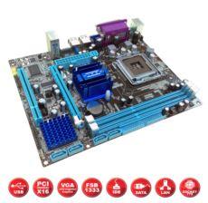 HIPER SC-775,G41,SES,LAN,VGA,SATA,DDR2-DDR3(COMBO)