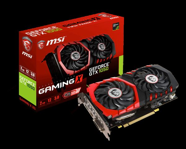 MSI GTX1050 GAMING X 2G GTX1050-GAMING-X-2 GeForce GTX 1050 GAMING X 2G