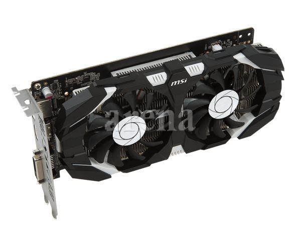 MSI GTX1050TI 4GT OC 128B DVI DP HDMI DX12