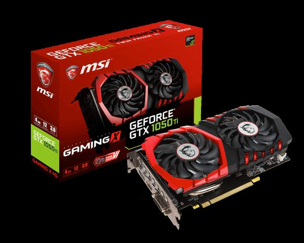 MSI NVIDIA GeForce GTX 1050 TI GAMING X 4G 4GB 128 bit GDDR5 DX(12) PCI-E 3.0 Ekran Kartı
