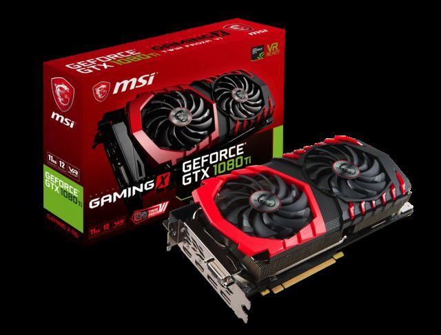 MS GTX1080TI 11GB 352BIT GDDR5X DVI-2xHDMI-2xDP GAMING NVIDIA EKRAN KARTI
