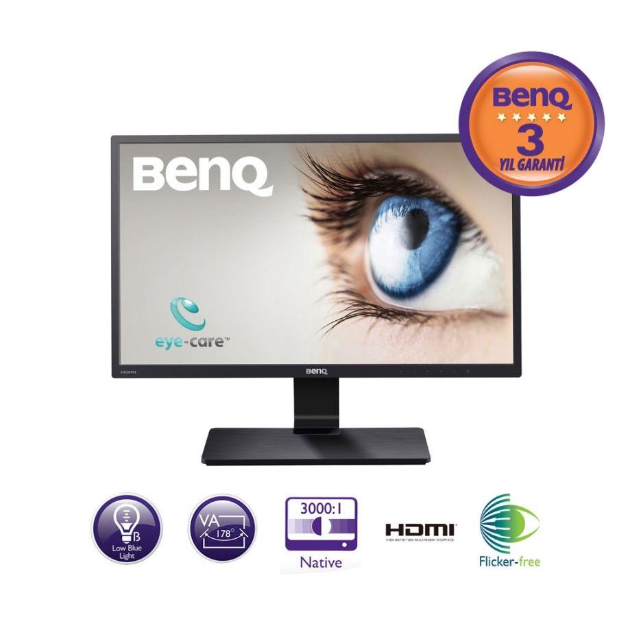 BenQ GW2270H 21.5 5ms (Analog+2xHDMI) Full HD VA Monitör