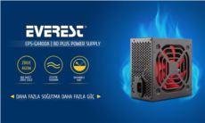 EVEREST GX400A Real-400W Peak 460W 80 Plus Bronze 12cm Fanlı Power Supply