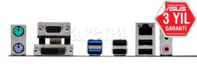 ASUS INTEL H110 1151 DDR4 2133MHZ VGA&DVI ANAKART