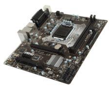 MSI H110M PRO-VHL DDR4 VGA HDMI GLAN SATA 3 USB 3.1 COM+LPT PCI