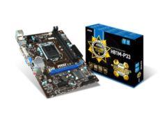 MSI Intel H81 1150 DDR3 1600MHz DVI-VGA Anakart