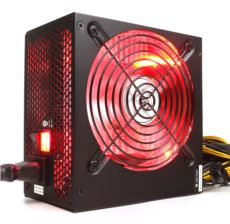 HIGHPOWER 700W 80+ Kırmızı Ledli Güç Kaynağı HPG-700ST-T12S