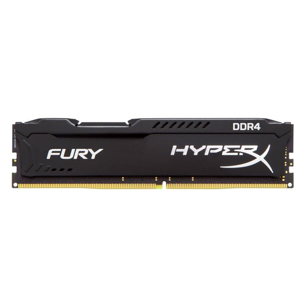 KINGSTON 8GB 2400MHz DDR4 Hyprex Fury SIYAH RAM