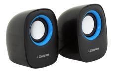 Classone Q1 Serisi K3001 1+1 USB 2.0 Hoparlör - Siyah - Mavi