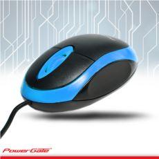 PowerGate E190-M USB Kablolu MOUSE (Mavi-Siyah)